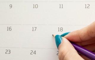 calendario gestión citas
