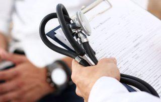 Cuestionario de datos médicos del paciente