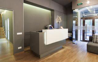 Decoración de una clínica dental