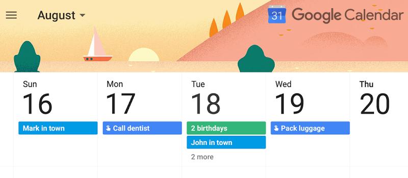 Google Calendar en software de citas médicas