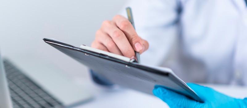 historias clínicas de pacientes